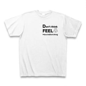 ホワイト考えるな感じろいねまるくんTシャツ