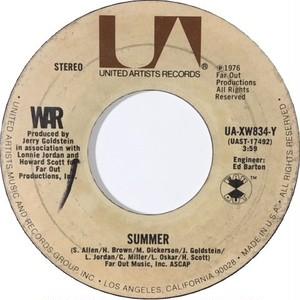 War – Summer / All Day Music