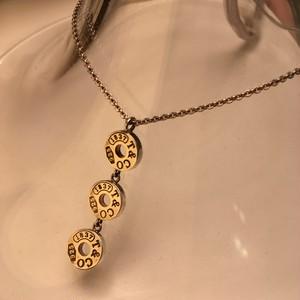 【Tiffany & Co./ティファニー】スリードロップ サークルペンダント  SILVER925