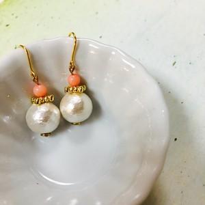 coral & cotton pearl
