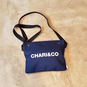 CHARI&CO BOLD LOGO SACOCHE