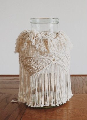 TORCH - Stunning Macrame Jar/King
