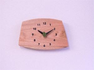 森の掛け時計 クルミ