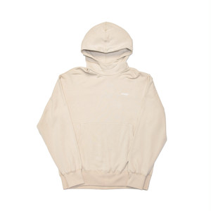 EXTRALESS Extraless Logo Type Hoodie Sand EX19SS0007