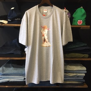 【SUPREME】 -シュプリーム-SS19 CUPID TEE HEATHER GREY