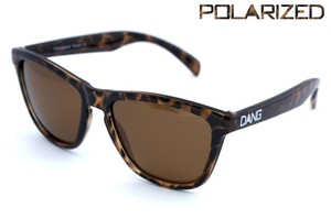 サングラス「DANG SHADES」ORIGNAL Light Tortoise X Amber Polarized【偏光レンズ】