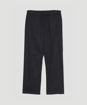 LEMAIRE and SUNSPEL Light Elasticated Pants Midnight Blue M-193-PA134