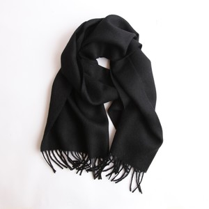 THE INOUE BROTHERS/Large Woven Stole/Black