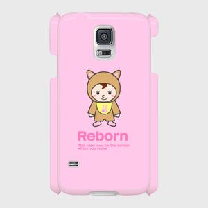 Reborn 側表面印刷スマホケース Galaxy S5(SC-04F/SCL23) ツヤ無し(マット)