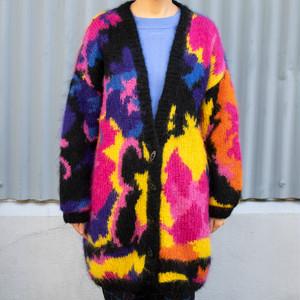 Mohair Knit Cardigan