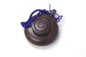 塗香入れ 材質:紫檀
