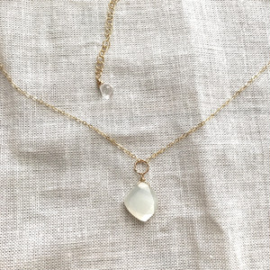 【New】Moonstone*Necklace/14K GF