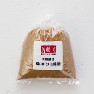 天然醸造 富山いきいき味噌 400g