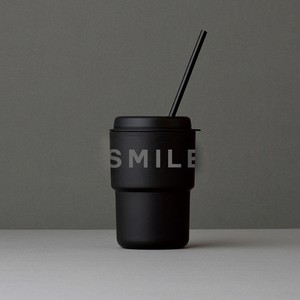 【限定ブラック】DRIVE SUNDAY タンブラー 「SMILE AND DRIVE」 WALLMUG DEMITA