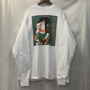 "80's ""TOYOKUNI"" Long Sleeve Tee"