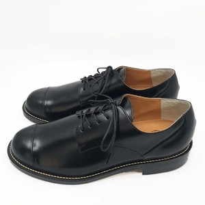 steer blucher shoes/BLK,DBR/l.o.b【即納】