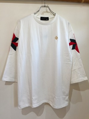 ALDIES=アールディーズ『Windmill Half Sleeve T』#White
