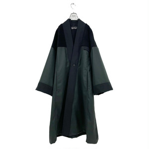 Haori (black/deep green)