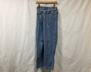 "MAISON EUREKA "" VINTAGE REWORK BIGGY PANTS ""  BLUE C"
