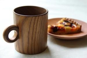 道産エンジュ材のマグカップ