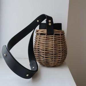 【ReStock】Shoulder-Basket010 #BLK