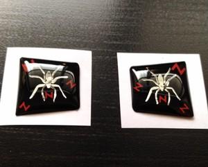 HONDA NBOX インナーロック&アンロック カスタマイズアピールシート メッキ毒蜘蛛 N文字 プレミアム仕様