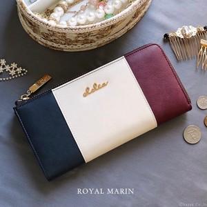flap luxury striped(wallet)