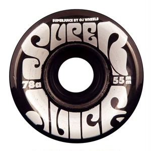 OJ Wheels / 55mm / 78a / Mini Super Juice / Trans Black
