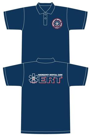 ペットセーバー レスキュー隊員ドライポロシャツ(ERT)  サイズ S