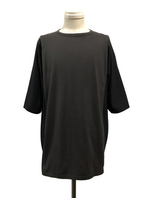 ARMHOLELESS SHORT SLEEVES - BLACK / CHARCORL -