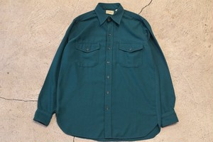 USED 80s L.L.Bean L/S Shirt -Medium 0890