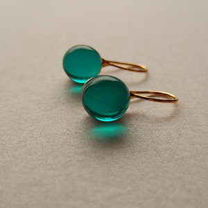 Teardrop - emerald green