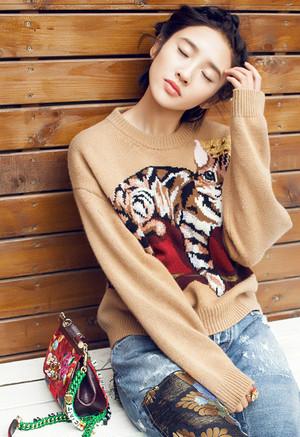 韓国風 セーターニット 可愛い 猫ちゃん レディース ジャガード プライマーシャツ 丸えり 大人気 エレガント スタイリッシュ セーター ユニーク フリーサイズ