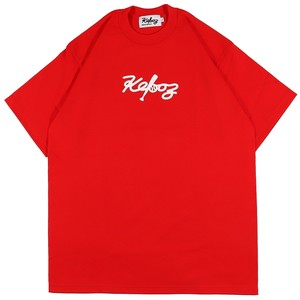 ALL GOOD STORE × KEBOZ CT HEAVY WEIGHT S/S TEE (RED)