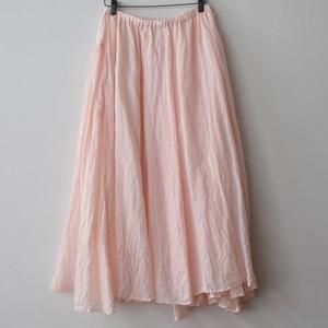 suzuki takayuki スズキタカユキ long skirt S201-25  pink
