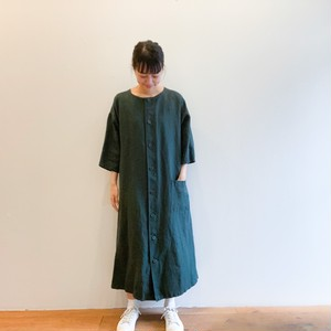 C-71109 Linen Twill 2Way Dress