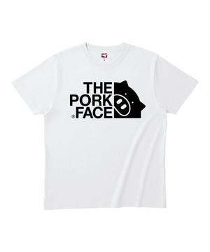 【棚卸で発見980円】商標取得記念Tシャツ(THE PORK FACE)