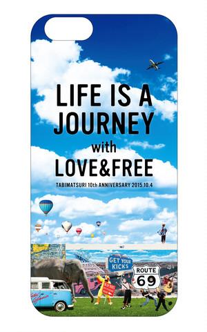 iPhoneケース【旅祭 LOVE&FREE】iPhone6対応