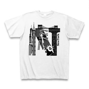Tシャツ NewYork:ホワイト