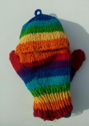 指きりミトンカバー手袋