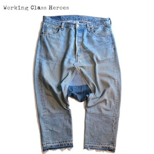Remake Denim Sarrouel Pants -D