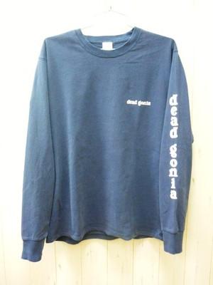 """""""deadgonia"""" 5.6oz. L/S T-Shirt Pigment Dye (デッドゴニア 5.6オンス ロングスリーブTシャツ ピグメント染)"""