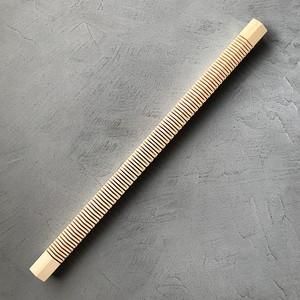 <Found & Made> Weaving Loom Heddle Bar / 手織り木枠 綜絖バー (L)