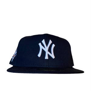 NEW ERA New York Yankees 2000 World Series 59Fifty Fitted / Navy×White (Pink Brim)