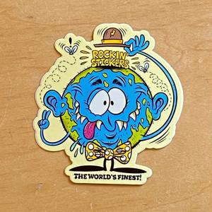 """""""The World Finest"""" sticker by Burrito Breath"""