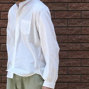 MBL BAND COLLAR SHIRTS chapter Ⅲ  for MEN オーガニックコットン100%