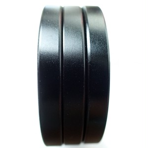アルミ Cリング マットブラック 3個セット(幅5mm/高さ6mm)