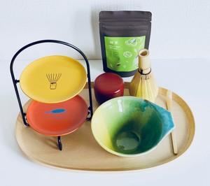カラフル抹茶セット(盆含まず)