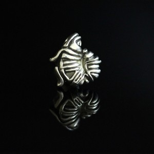 BioMechanical Fish Pendant Top