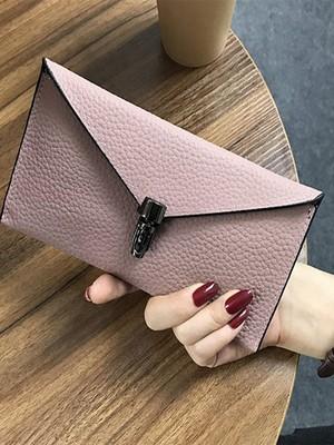 【accessories】Simple long envelope wallet